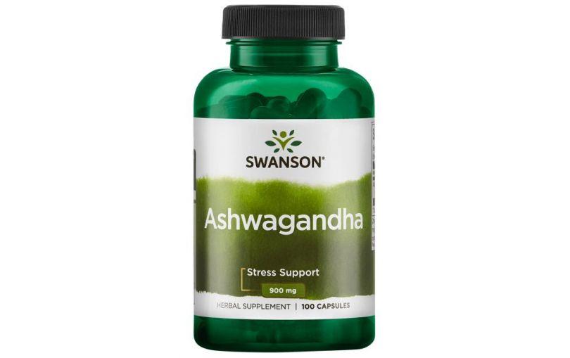 SWANSON Ashwagandha 450mg, 100kaps.
