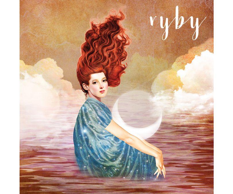 Plakat znaki zodiaku - Ryby