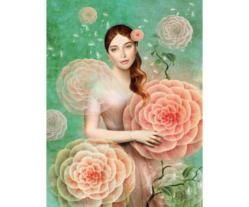 Plakat Pastelowa dama 30x40 cm